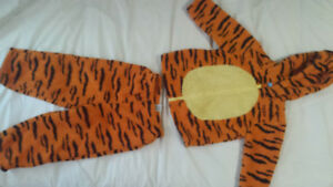 "Toddler Halloween ""Tigger"" costume."