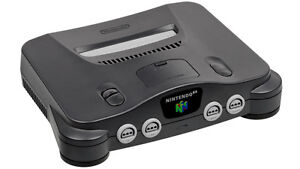 Nintendo 64 Console  + Booster Pack