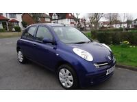 NISSAN MICRA SE - HPI CLEAR AND SERVICE HISTORY 2005 Auto 76938 Petrol Blue