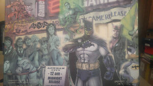 Rare Limited Edition Batman Arkham City Print