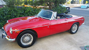 1971 RED MGB FOR SALE