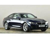 2014 BMW 4 Series 420d xDrive M Sport 2dr Auto Coupe diesel Automatic