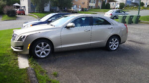 460.$/ M 1132 km/2015 Cadillac ATS Coupe 2.0 T Berline, beige
