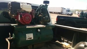 Ford F-250 Diesel with air gas compressor