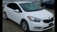 2014 Kia Forte LE Sedan like new 26000km vandalized