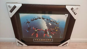 Picture framed with glass, NEW - Big moving sale!