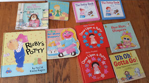 Potty training books for toddlers $20 for 10 London Ontario image 1