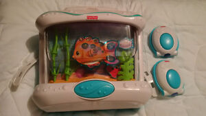 Fisher-Price Ocean Wonders Aquarium with remote control