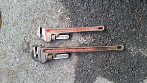 """pipe wrench 18 et 24"""""""