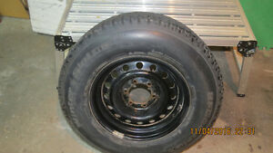 Winter Tire/Steel rims & Mag rims with summer tire for sale Kingston Kingston Area image 3