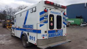 2014 Crestline Ambulance Body
