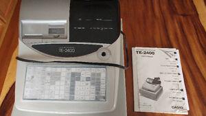 Cash Register (Casio TE-2400)