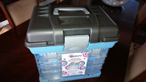 Two Large Crafting Organizers - NEW - $50