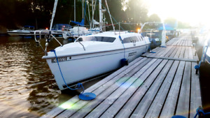 2001 voilier hunter 24 pieds