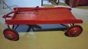 Antique Red Wagon