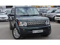 2009 LAND ROVER DISCOVERY 4 TDV6 HSE LOVELY HSE IN GALLWAY GREEN METALLIC BI