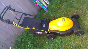 Electric lanmower   for sale