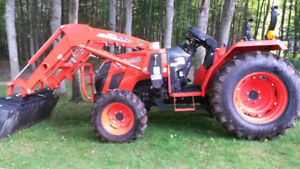 Kioti DS4510HS 4WD 4X4 tractor package