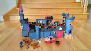 Lot de pièces de château Fisher Price médiéval Imaginext