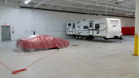 Indoor Winter Storage for Cars, Boats, RV's, etc