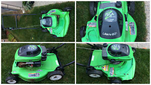 Lawnboy push mower 6.5 hp commercial silver series