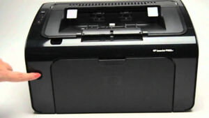 Interested in HP Laserjet Pro P1102 or similar small model