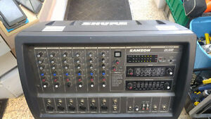 Samson Powered Mixer was $500, now 25% off. On sale for $375!