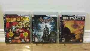 Bundle of 11 PS3 games  West Island Greater Montréal image 3