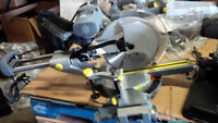 "12""double bevel Sliding Compound Mitre Saw performax.laser guide"