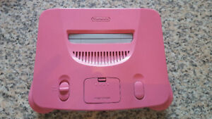 Pink Nintendo 64 and other pink stuff