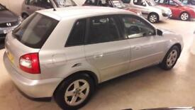 Audi A3 1.6 2002MY Sport only 70,084 miles FULL HPI CLEAR 01603 622313