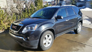 Private sale. Extended Warranty.  2012 GMC Acadia, AWD