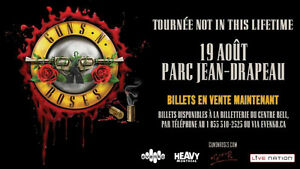 GUNS AND ROSES MONTREAL