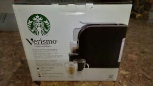 Verismo System By Starbucks - new - never used in open box