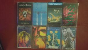 Plusieurs cassettes audio à 2$ OU LE LOT POUR 20$