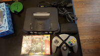 N64 CONSOLE AND GAME!!!