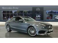 2017 Mercedes-Benz C-CLASS C220d AMG Line Premium Plus 4dr Auto Diesel Saloon Sa