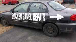 Rockers , Floors, Wheel Weels, Trunks Repaired