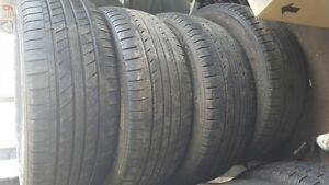 185 55 15 set of four used Champiro tires fo sale