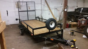 brand new rebuilt/home built 4x10 utility trailer with tailgate/