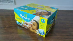Pampers Size 3 Diapers Swaddlers 162-pc