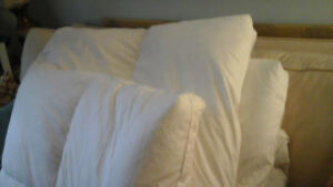Downfeather  MATTRESS TOPPER  QUEEN SIZE, new condition