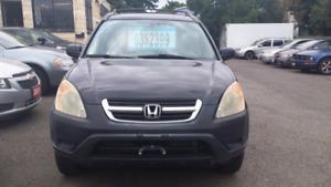 2003 HONDA CRV as is OPEN SATURDAY FROM 9 TO 1