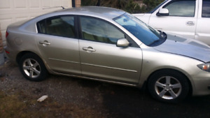 2004 MAZDA 3 CERTIFIED $ 3000 OBO LOW MILEAGE