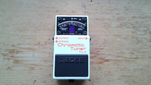 Boss TU-2 Tuner Pedal for bass/guitar/other