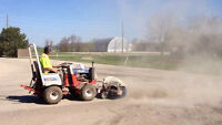 Parking Lot Power Sweeping