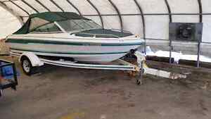 1991 Sea Ray 160 bowrider with 115hp Mercury outboard