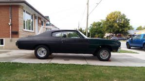 Project 1970 chevelle asking 10k OBO!