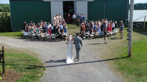 Wedding Drone Video & Photos