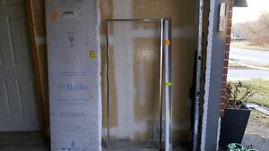 Swing Shower Door Silver frame by Mirolin